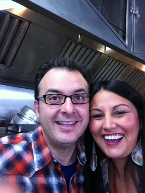 Food Network's John Catucci makes bannock at  Kekuli Cafe