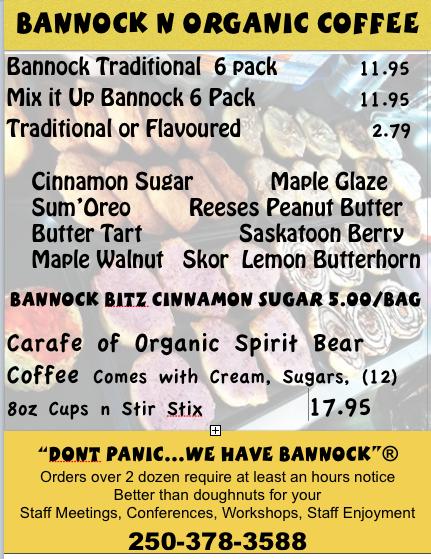 Bannock Catering